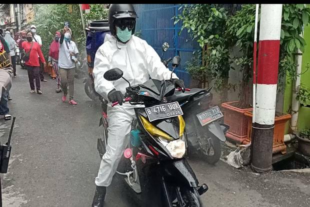 Naik Motor, Bripka Afit Tembaki Rumah Warga di Gang Sempit