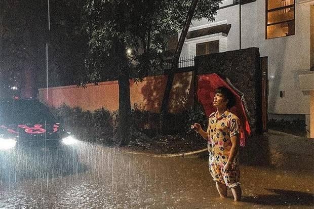Kebanjiran, Lamborghini dan BMW Atta Halilintar Terendam Air