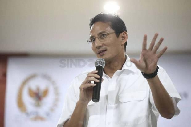Sandiaga Uno Usulkan Vaksinasi Pekerja Wisata Mulai Maret