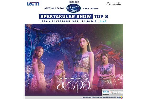 Istimewanya Spektakuler Show Indonesian Idol Malam Ini, Ada Tantangan Night of the Divas dan Hadir Group K-Pop Aespa