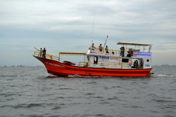 Kembali Berlayar di Kepulauan Seribu, Klinik Apung Disambut Positif