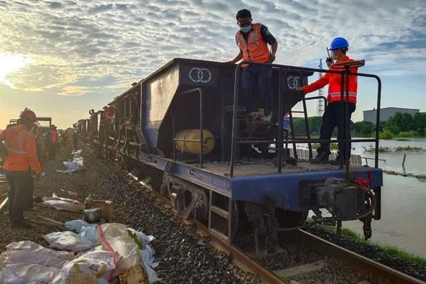 Perbaikan Rel Selesai, Stasiun Gambir dan Pasar Senen Berangkatkan KA Jarak Jauh Sore Ini
