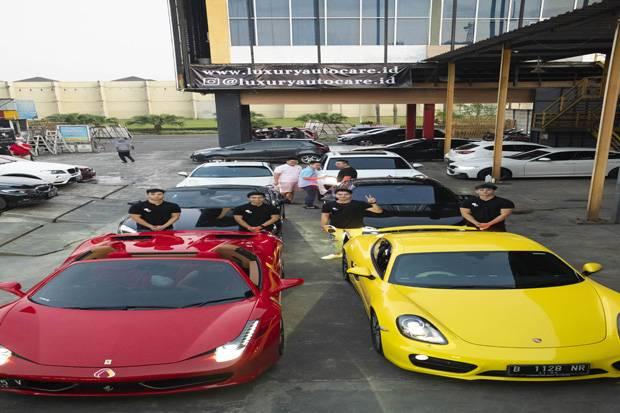 4 Pebisnis Muda Buka Servis Coating Mewah di Gading Serpong Tangerang