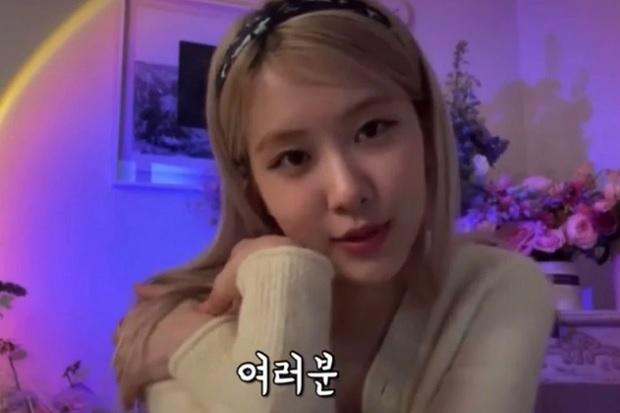 Rose BLACKPINK Alami Fenomena Mengerikan saat Live Streaming