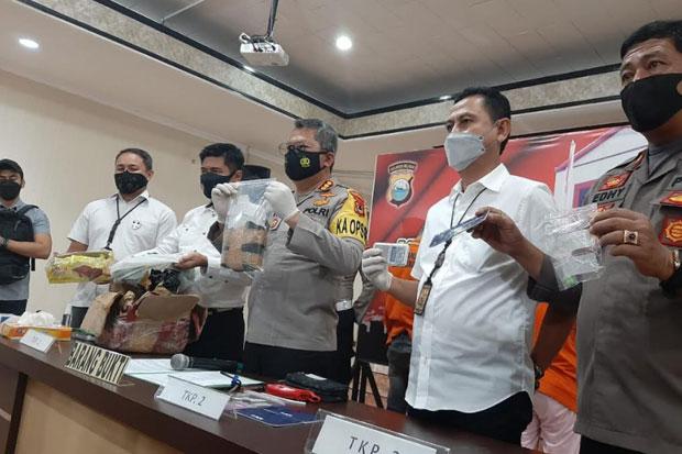 Sabu 1 Kg Gagal Beredar di Makassar, 3 Pelaku Diamankan
