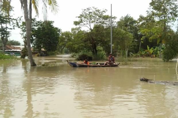 Mulai Surut, Banjir Masih Rendam 7 Kecamatan di Kabupaten Bekasi