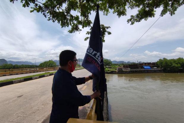 Jelang Pelantikan MYL-Syahban, Nasdem Pangkap Pasang Ribuan Bendera