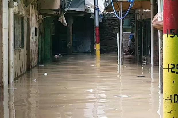Direndam Banjir Lagi, Selama Februari Ini Warga Kebon Pala Sudah 4 Kali Kebanjiran