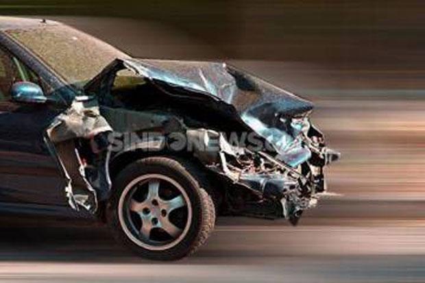 Kecelakaan Tunggal di Tol Dalam Kota Jakarta, 1 Orang Dikabarkan Terluka