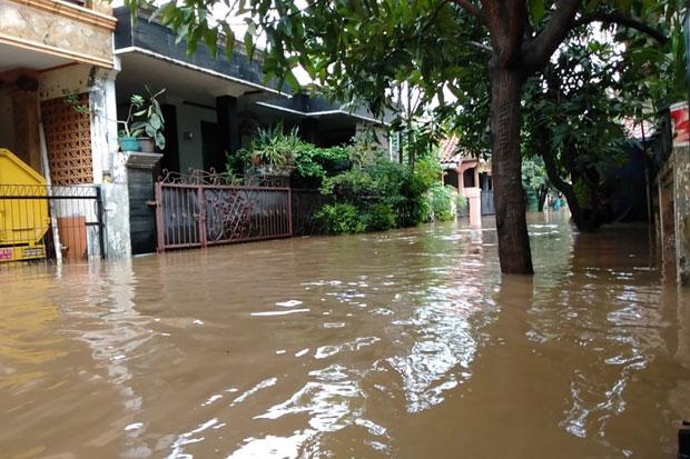 Banjir di Kabupaten Bekasi Masih Tersisa 73 Titik, Ribuan Warga Mengungsi