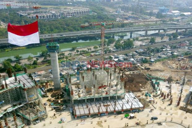 Begini Progres Pembangunan Stadion JIS Jakarta Utara saat Pandemi