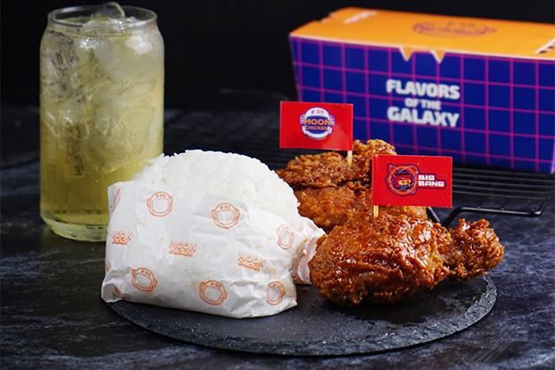 Makan Lebih Puas dengan Moon Fried Chicken