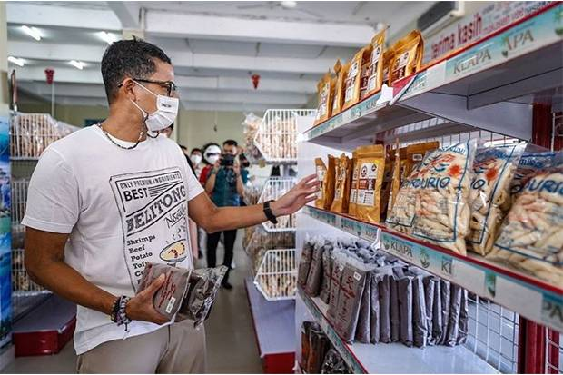 Sandiaga Uno Ingatkan Pengusaha Ekraf untuk Daftarkan Merek Dagang