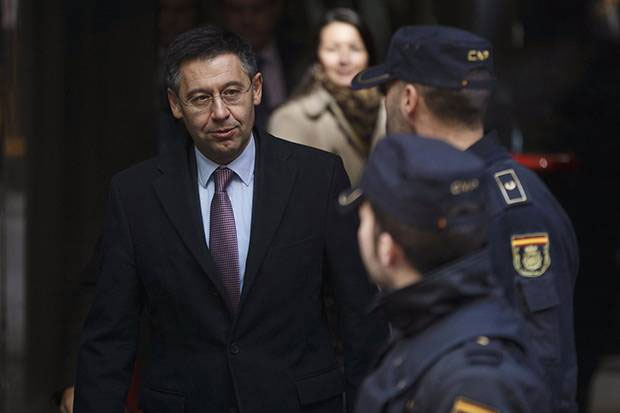 Eks Presiden Barcelona Josep Bartomeu Ditangkap Polisi Karena Korupsi