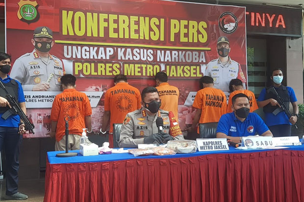 Ingin Selundupkan Sabu ke Tahanan, 2 Kurir Diciduk Polisi