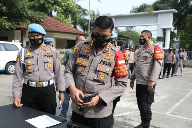 Cegah Penembakan Cengkareng Terulang, Polres Tangerang Periksa 264 Senpi Anggotanya