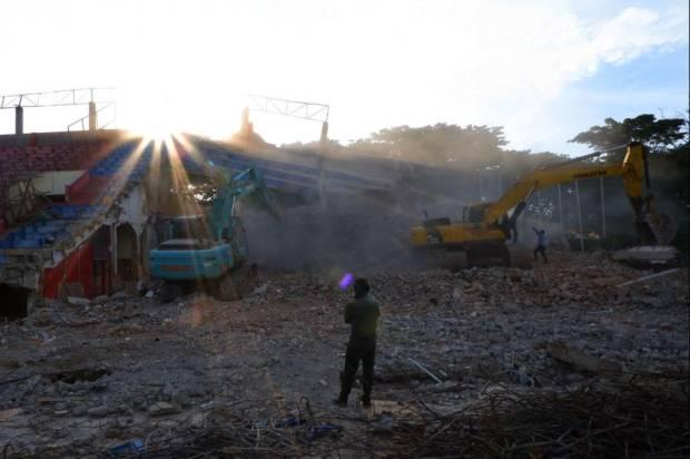 Suporter PSM Harap Pembangunan Stadion Mattoanging Tetap Berlanjut