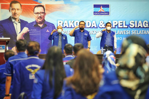 5 DPC di Sulsel Diduga Hadiri KLB Demokrat di Deli Serdang