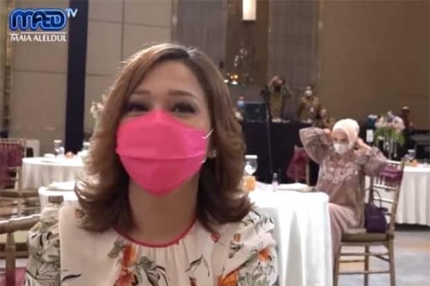Momen Maia Estianty Harus Duduk Dekat Mulan Jameela di Acara Lamaran Atta-Aurel