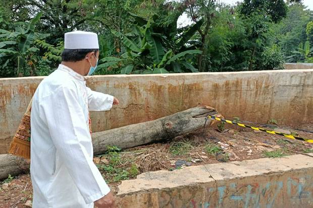 Polisi Sebut Potongan Kaki Manusia di Samping Masjid, Milik Pasien Diabetes yang Diamputasi