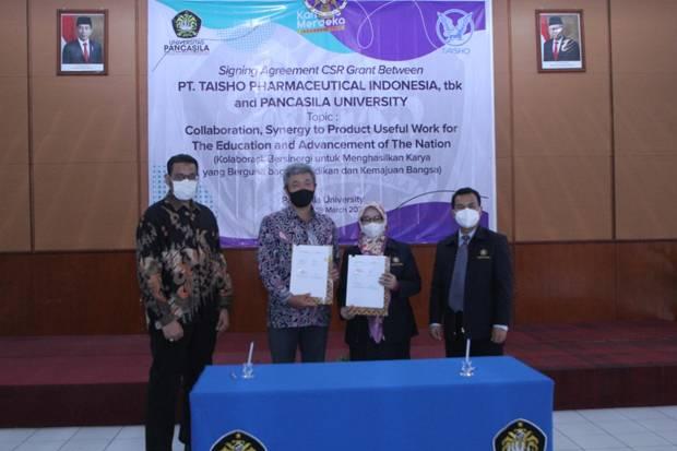 SQBB Kolaborasi PT Taisho-Universitas Pancasila di Bidang Pendidikan