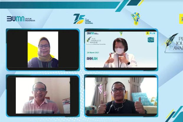 4 Jurnalis SINDO Juara PLN Journalist Award