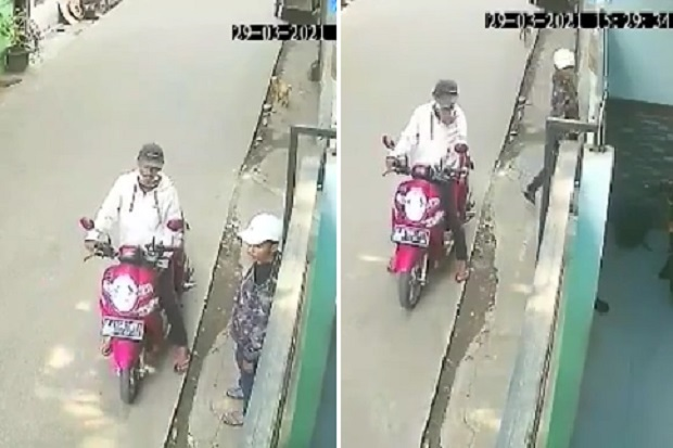 Penjambret Anak-anak di Cengkareng Terekam CCTV, Polisi Buru Pelaku