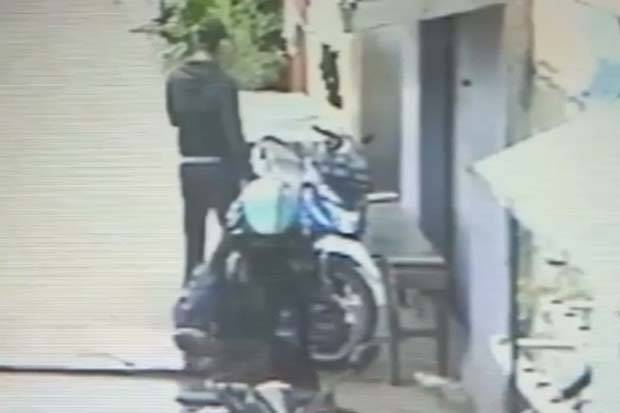 Viral, Motor Ojol di Koja Raib Digasak Dua Pencuri