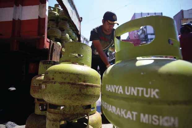 Sosialisasi Harga Baru LPG 3 Kilogram Terus Dilakukan di Gowa