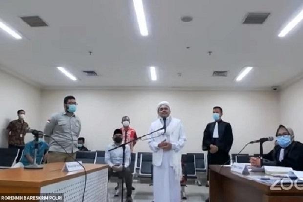 Jelang Putusan Sela, Kubu Habib Rizieq: Kaki Hakim Sudah Berada di Antara Surga dan Neraka