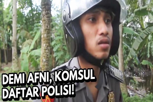 Ingin Jadi Polisi, Film Pendek Ngapak Karya Cingire