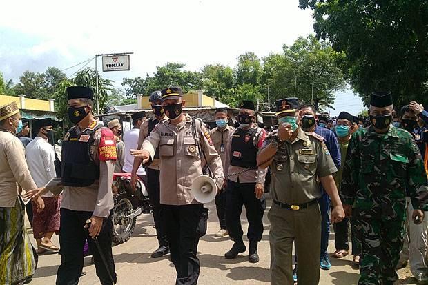 3 Pilar Kota Tangerang Imbau Masyarakat yang Melayat Abuya Uci Patuhi Prokes