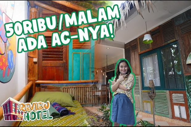 Begini Keseruan Gritte Agatha Nge-review Hostel Unik di Yogyakarta