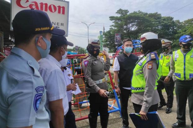 Jasa Raharja Tinjau Lokasi Rawan Kecelakaan Lalu Lintas di Makassar