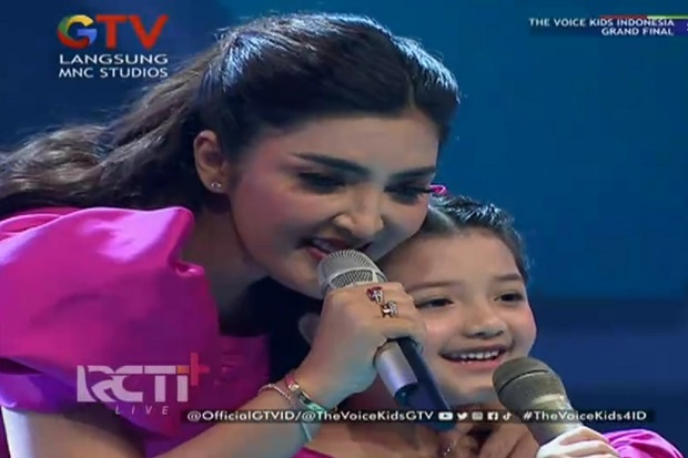 Bikin Gemes! Arsy Hermansyah Bawakan Lagu Snowman di The Voice Kids Indonesia