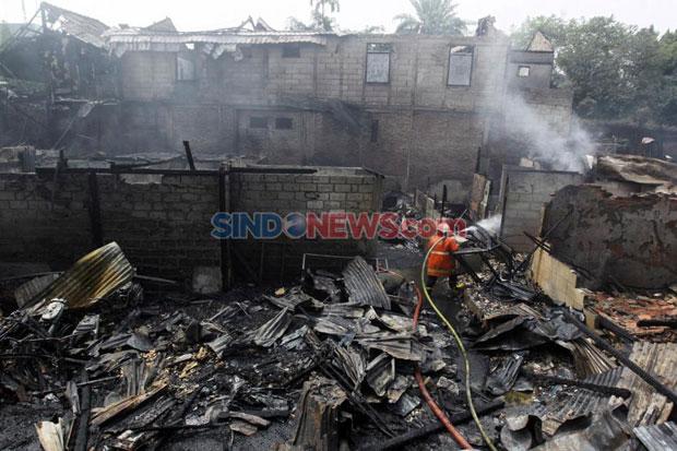 Via Medsos, DKI Ingatkan Warganya Soal Kebakaran Saat Musim Hujan