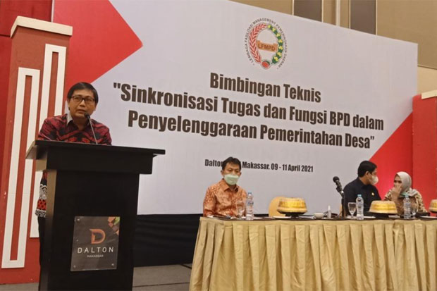 BPD dan Kepala Desa di Luwu Utara Diharap Bersinergi Layani Masyarakat