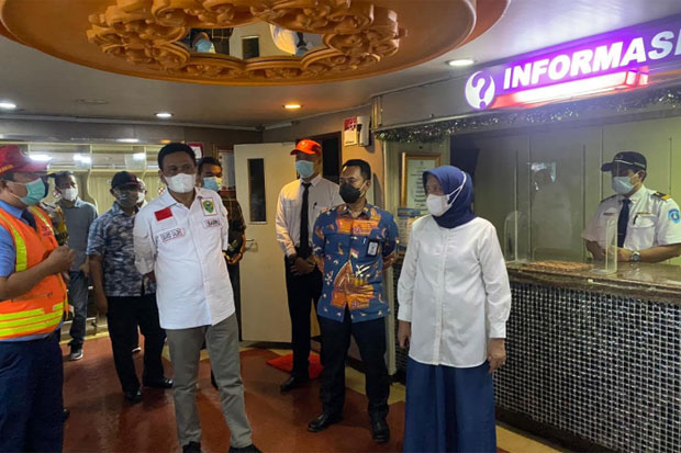 Bupati Barru Sambut Baik Operasi Perdana KMP Dharma Kencana