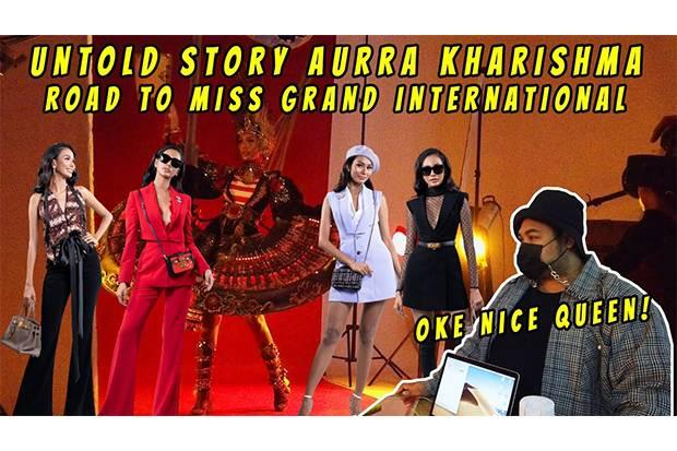 Keseruan Ivan Gunawan Temani Miss Grand Indonesia 2020 Lakukan Pemotretan