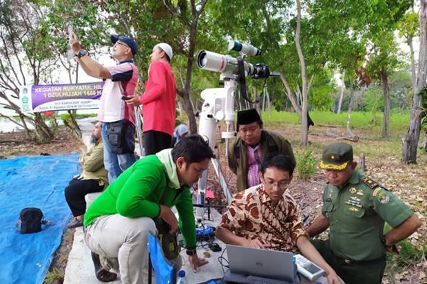 Tim Falakiyah Jakarta Islamic Centre Lakukan Rukyatul Hilal di Kepulauan Seribu