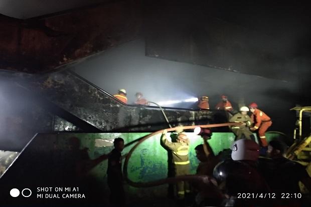 Kasudin Gulkarmat: Api di Gedung Pasar Minggu Berasal dari Basemen