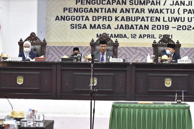 I Wayan Suta Dilantik Jadi Anggota DPRD Luwu Utara Gantikan Rahmat Laguni