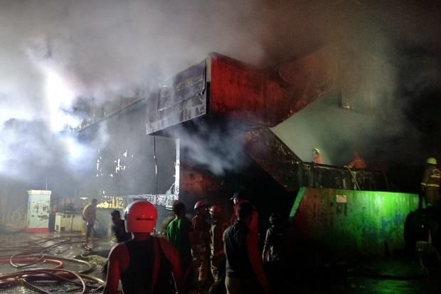 Kebakaran Pasar Inpres Pasar Minggu, 392 Kios Ludes Korban Nihil