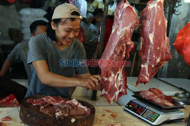 Hari Pertama Puasa, Harga Daging dan Cabai di Kota Bogor Masih Bertahan Tinggi