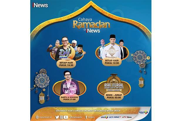 Ini Line Up Cahaya Ramadan di iNews, Ada Ustaz Yusuf Mansur hingga Armand Maulana!