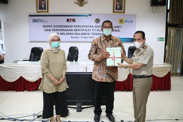 Aset Tanah PLN di Sulawesi Tenggara Berhasil Diselamatkan