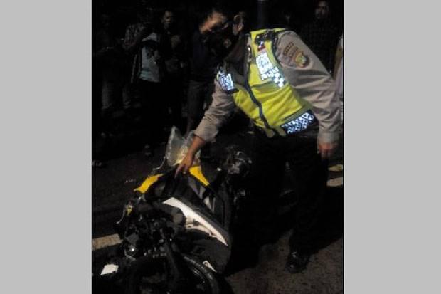 Hilang Kendali, Pengendara Motor Tewas dalam Kecelakaan Tunggal di Jakarta Barat
