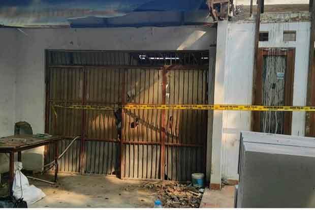 Rumah Roboh di Benhil Bikin Heboh Warga, Terdengar Dentuman Mirip Gempa