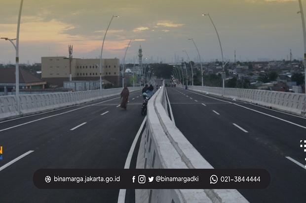 Pembangunan Fly Over Cakung Rampung, Uji Coba Dilakukan Senin