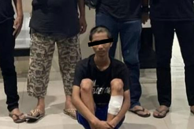 Kawanan Begal di Makassar Diringkus, Satu Orang Dilumpuhkan